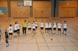 A-Jugend gewinnt gegen die TV Großwallstadt Junioren
